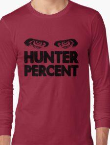 Hunter Percent (Light Version) Long Sleeve T-Shirt
