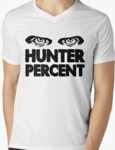 Hunter Percent (Light Version) Mens V-Neck T-Shirt
