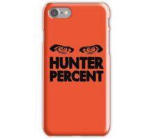 Hunter Percent (Light Version) iPhone Case/Skin