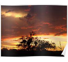 Amazing Arizona Sunset Poster