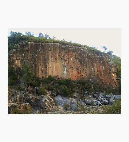 Red Rock Gorge Photographic Print