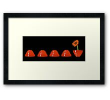 Devo Flower Framed Print