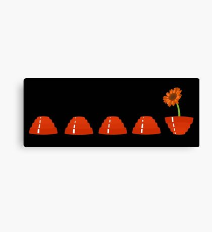 Devo Flower Canvas Print