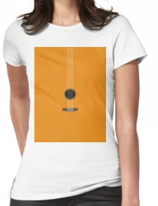 guitar art Womens Fitted T-Shirt