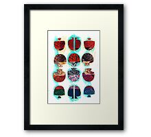 Multifaceted No.2 (Light, Time & Facade Series) Framed Print