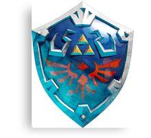 Skyward Sword Shield Canvas Print