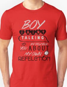 Reflection Typography Unisex T-Shirt