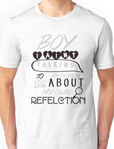 Reflection Typography Unisex T-Shirt