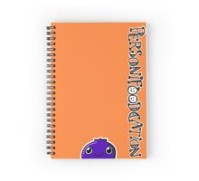 Personifoodcation with Blueberry Spiral Notebook