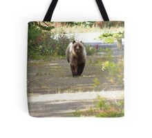 This Grizzly Charged Me Tote Bag