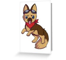 Dogmeat Greeting Card