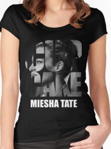 miesha tate Women's Fitted Scoop T-Shirt