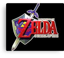 The Legend of Zelda - Ocarina of Time Canvas Print