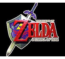 The Legend of Zelda - Ocarina of Time Photographic Print