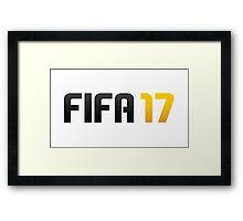 fifa 17 Framed Print