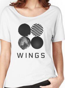 Bangtan Boys (BTS) 'WINGS' Women's Relaxed Fit T-Shirt
