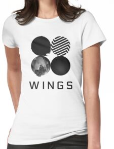 Bangtan Boys (BTS) 'WINGS' Womens Fitted T-Shirt
