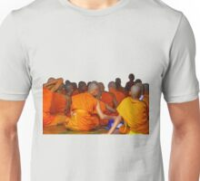 Novice monks in class, Chang Mai, Thailand Unisex T-Shirt