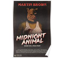 Hotline Miami: Midnight Animal Poster