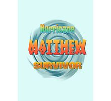 Hurricane Matthew Sunset Survivor  Photographic Print