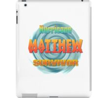 Hurricane Matthew Sunset Survivor  iPad Case/Skin
