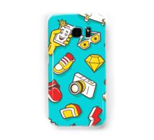 Teal Retro Street Urban Style Samsung Galaxy Case/Skin