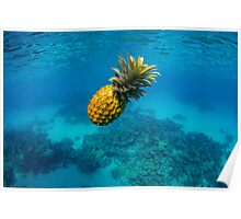Tropical Pineapple Poster