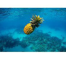 Tropical Pineapple Photographic Print