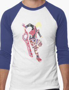 Shulk Typography Men's Baseball ¾ T-Shirt