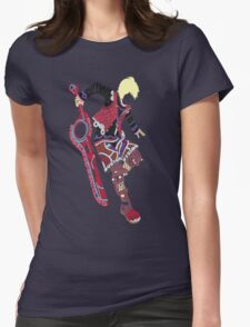 Shulk Typography Womens Fitted T-Shirt