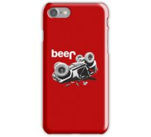 Funny  Beer  4x4 iPhone Case/Skin