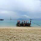 Zeavola boats at Phi Phi by Robyn Williams