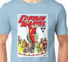 RETRO GOLDEN-AGE COMIC BOOK HERO, MAGIC WORD Unisex T-Shirt