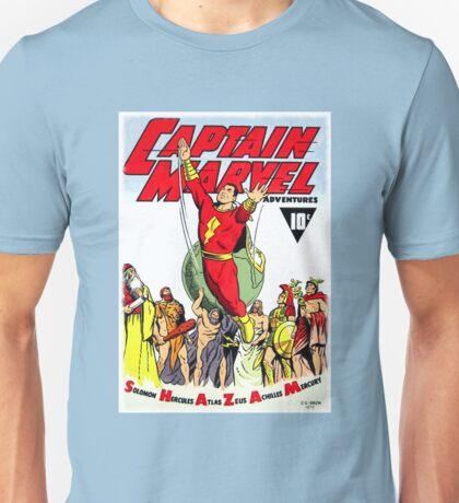 RETRO GOLDEN-AGE COMIC BOOK HERO, MAGIC WORD Unisex T-Shirt