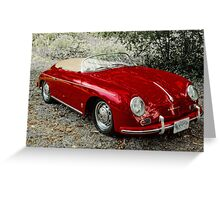 Porsche Speedster Greeting Card