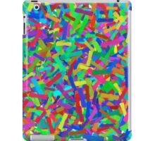 Colorful Abstract Paint Brushstrokes iPad Case/Skin