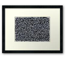 Black Celebration Framed Print