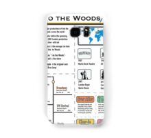 Into the Woods Infographic Samsung Galaxy Case/Skin