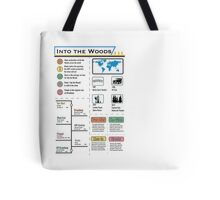 Into the Woods Infographic Tote Bag