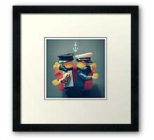 Fight Team Framed Print