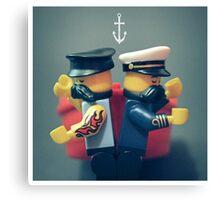 Fight Team Canvas Print