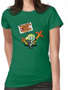 Trick or Treat (Keroro vers.) Womens Fitted T-Shirt