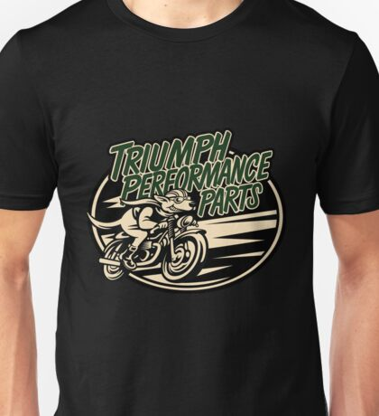 triumph motorcycle classic performance parts Unisex T-Shirt