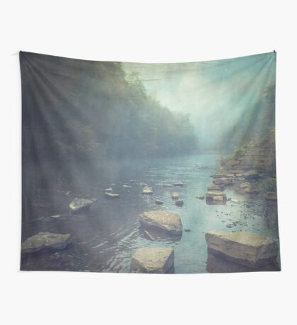 Stones in a River Wall Tapestry