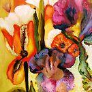 Second Detail, Garden Gone Wild II by Barbara Sparhawk