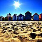 Beach Bathing Huts by Rinaldo Di Battista