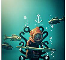 Vintage Diver by bykai