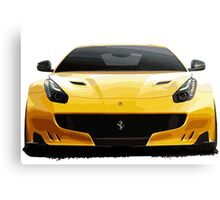 Sports Car F12 Canvas Print