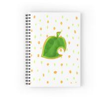 New Leaf Motif Spiral Notebook