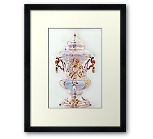 A Queens Coffeepot for a Day  Framed Print